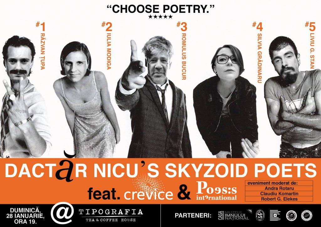 Dactăr_Nicu's_Skyzoid_Poets_ediția_28_afis